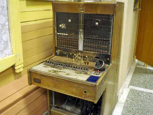 old phone station