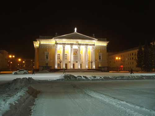 The theatre in Zheleznogorsk